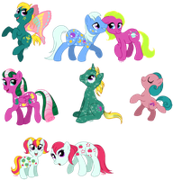 C-Puff's Ponies: Year 6 and 7 by C-Puff