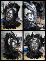 Jabberwocky Mask by CuriousCreatures