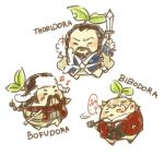 The Hobbit Mandora by fox-trail