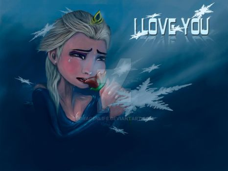 Frozen I love You by Dragenlife