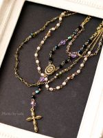 60cm doll size Rosary image necklace by solalis1226