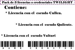Pack Licencias Twilight by Carol05