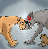 Never mess with Werewolf by Sapphiresenthiss