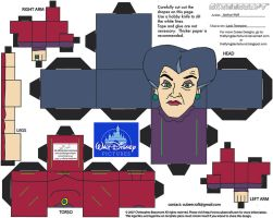 Dis44: Lady Tremaine Cubee by TheFlyingDachshund