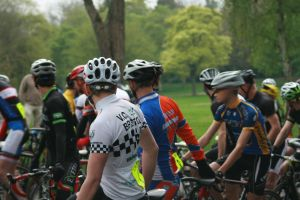 Bath cycle races, round one, ready for the off by BecciES