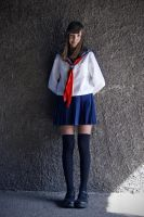 Japanese schoolgirl by BloodyCoffin13