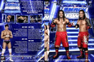WWE SmackDown July 2013 DVD Cover by Chirantha