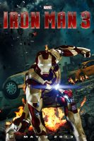 Iron Man 3 poster by DComp