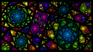 Fractal Stained Glass by bluejewel24