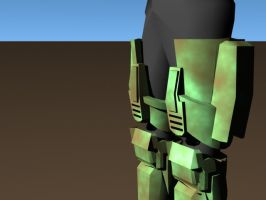 thigh pads close up by slothsart