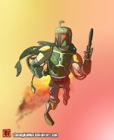 Intergalactic Bounty Hunter by CheungKinMen