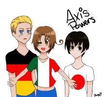 Axis Powers by Raegy