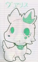 OC Jewelpet Varis by Alice-of-Africa