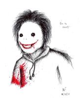 Jeff the Killer by TheR-tist