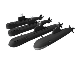 Nansen Class Diesel Electric Submarine Family by Stealthflanker
