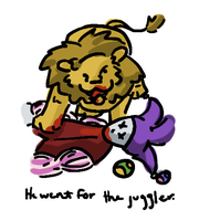 He went for the juggler. by frisbii