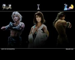 Dissidia 012 Wallpaper X by RoydGriffin