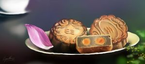 Moon cake by VUDUC