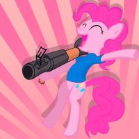 TF2-Pinkie Pie Soldier! by blangoog