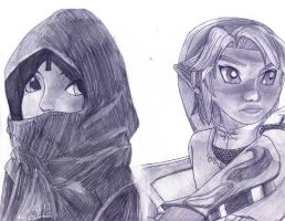 TP Link and Zelda by LinksLove
