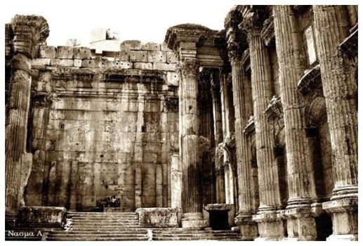 bacchus temple.. by nasma