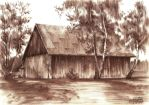 Old cottage by agaznamierowska