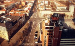 The top of Klaipeda City by MicroAlex