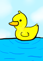 Duckling by chickenzoo