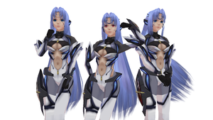 MMD Newcomer KOS-MOS Version 3 DOWNLOAD (UPDATE) by Xeno-Fan-Jinusa