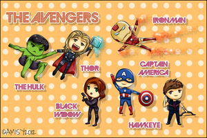 The Avengers Assemble! :) by LesioletteChrysanthe