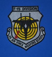 F-15 Division, USAF Weapons School Patch by F16CrewChief