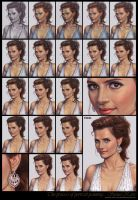 Step by step painting Stana by tman2009