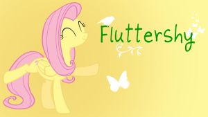 Fluttershy Added Name WP by Hufflepuff-Disney