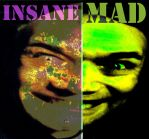 the two Sides of Danny Hennesy Mad and Insane by MushroomBrain
