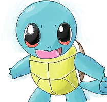 Old crappy squirtle i made by NeverWastedTime