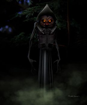 the Flatwoods Monster by HaitisWorst