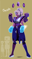 Unlikely fusion!  Charoite is born! by Dreatos