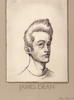 James Dean by RoscoeFink