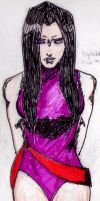 Psylocke, quick sketch by warbirdsinging