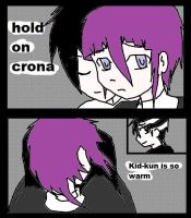 Crona x Death the kid Doujinshi page 9 by NekoDeaththeKid