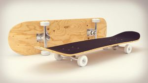 Skateboard by RegusMartin