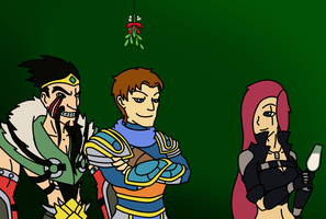League of Legends Secret Santa: Mistletoe by ShinobiFerret