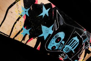 Death Rabbit SK8 Deck 2 by JimMahfood-FoodOne
