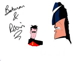 Batman And Robin by CptAlbertWesker