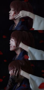 Kenshin and Tomoe: I Will Protect You by behindinfinity