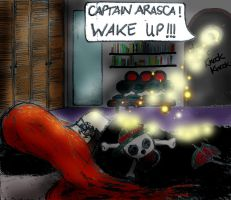 """""""wake up captain"""" by Arasca"""
