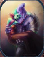 DotA 2, Faceless Void 'n Krobelus /6 by DariaDesign