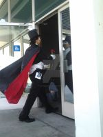 Tuxedo Mask Making An Exit! by LinkSketchit
