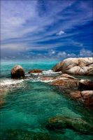 parai beach by horasbah