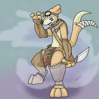Tribal Buizel by Weazel75